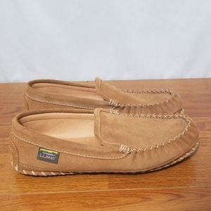 ll Bean Moccasin Leather Slippers Venetian